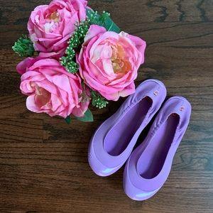 Luv Footwear Lavender Ballet Flats, size 38